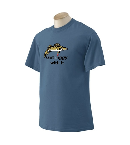 Walleye Get Jiggy With It T-Shirt