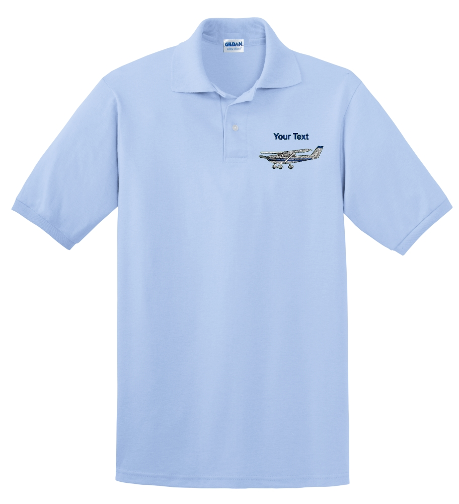 Embroidered Cessna Polo